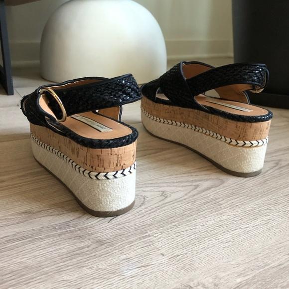 Woven Zara Platform Sandals